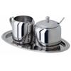 Металлическая посуда для сервировки